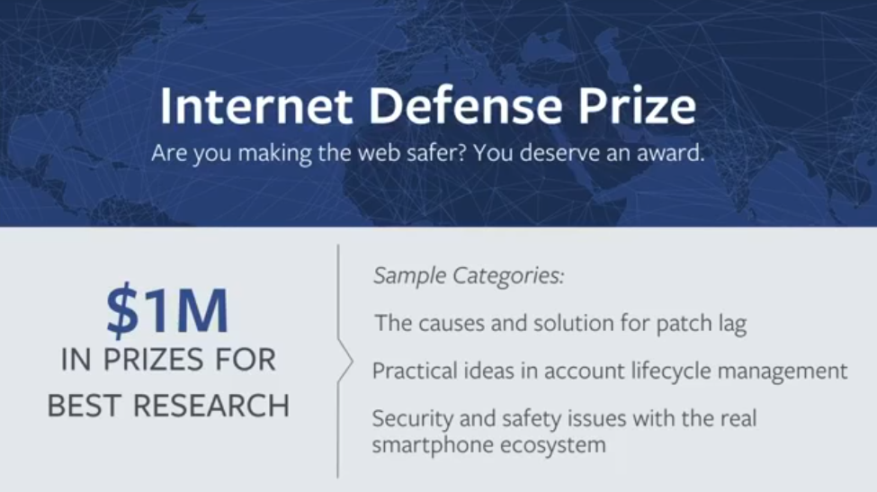 internet defense prize details